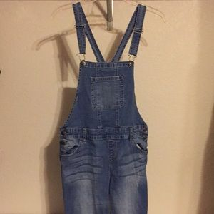 Overalls with holes